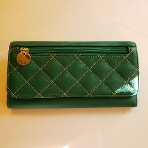 Green Relic wallet 7.5x4
